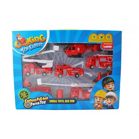 boite véhicules et accessoires  pompiers