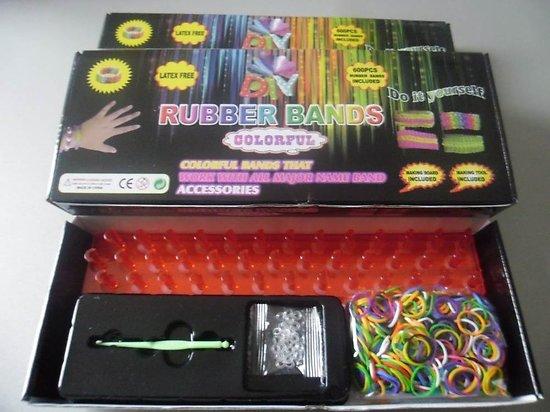 Kit De Loisirs Créatifs - Elastiques rubber bands