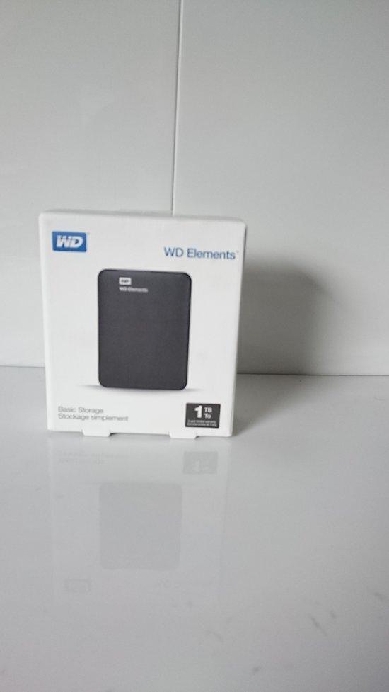 "Disque dur externe  WD  WDBUZG0010BBK-WESN 1 TB 2,5"" USB 3.0"