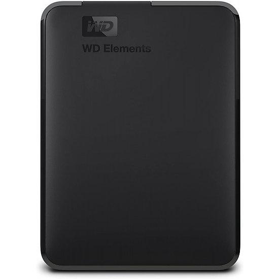 """Disque dur externe  WD  WDBU6Y0050BBK-WESN 5 TB 2,5"""" USB 3.0"""