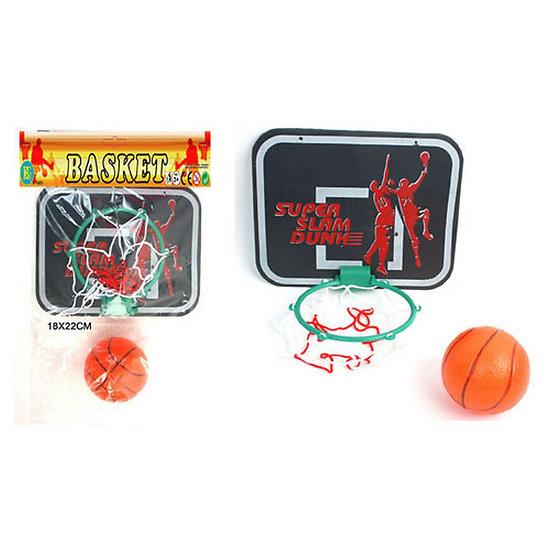 Mini panier de basketball avec ballon