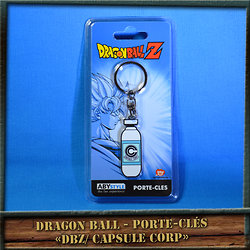 "Porte-clés Dragon Ball ""Capsule"""