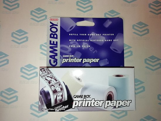 Official GAME BOY PRINTER PAPER NEUF