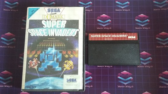 Master System : Super space invader