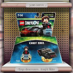 Lego dimensions : Knight Rider Fun Pack 71286