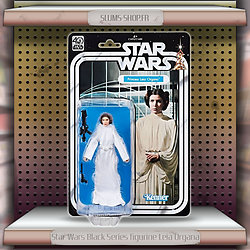 STAR WARS BLACK SERIES - FIGURINE LEIA ORGANA 15 cm