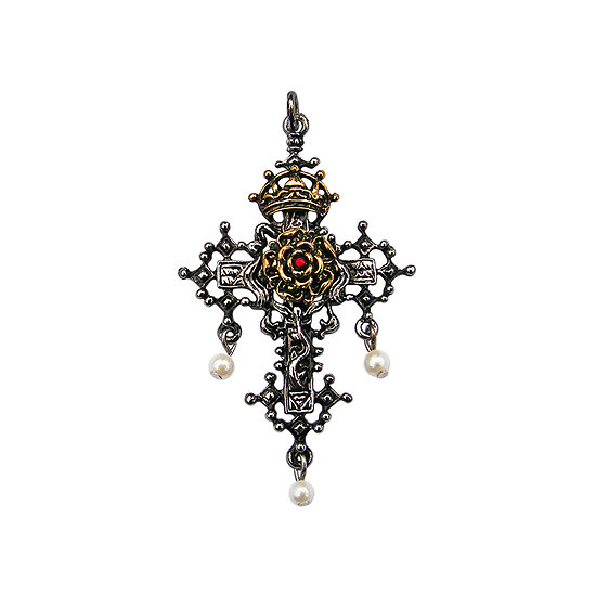 Rose croix d'hampton
