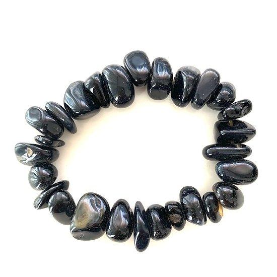 Bracelet obsedienne noire