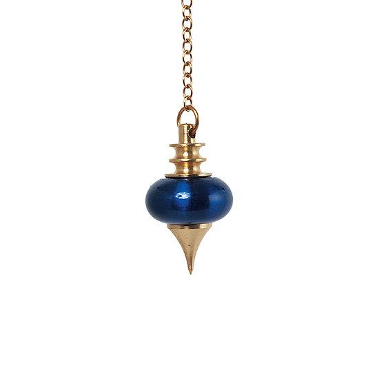 Pendule milessium bleu