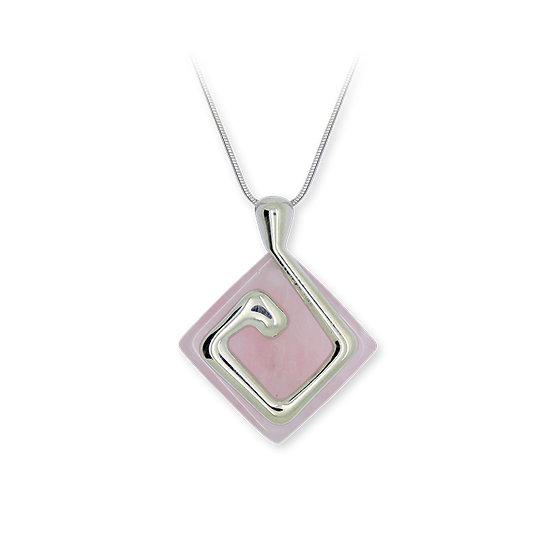 Collier Terre quartz rose