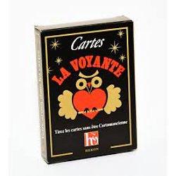 Jeux de cartes La voyante