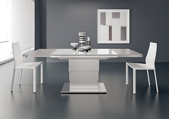 Table Relevable Ares Glass