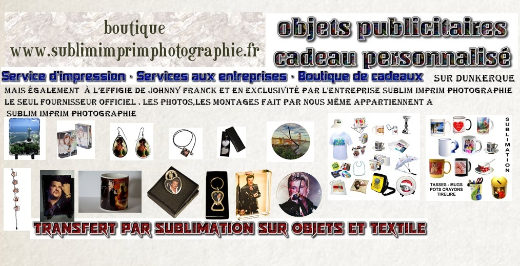 boutique sublim imprim photographie
