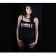 T-SHIRT FEMME A BRETELLES WEAPONS OF MASS PERCUSSION (NOIR)