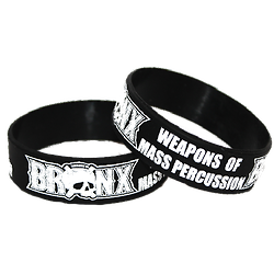 BRACELET BRONX WEAPONS OF MASS PERCUSSION