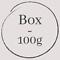 Sachet de :  - box 100g