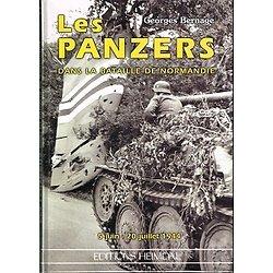 Les panzers dans la bataille de Normandie, Georges Bernage, Editions Heimdal 1999.
