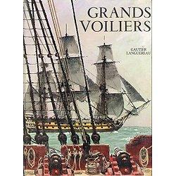 Grands voiliers, Jean Riverain, Gautier-Languereau.Paris 1964