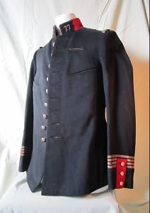 Veste uniforme officier français 77 ème infanterie Mdle1893