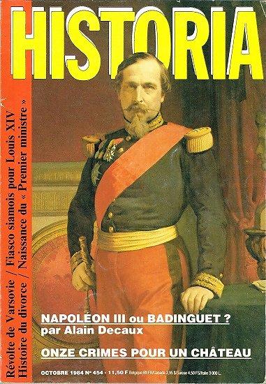 Historia N° 454, Octobre 1984.