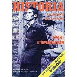 Historia N° 430, Septembre 1982