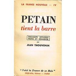 Pétain tient la barre, Jean Thouvenin, Sequana 1941.
