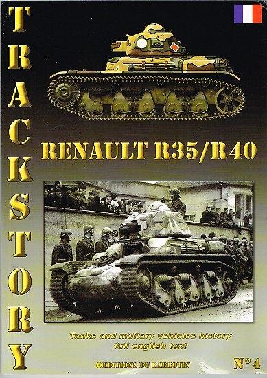 Renault R35 / R40, Trackstory n° 4, Editions du Barbotin 2005.