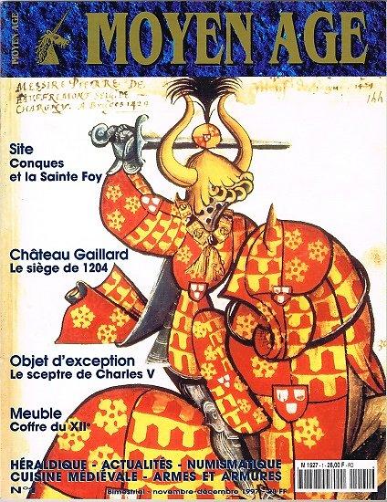 Moyen Age N° 1, collectif, Heimdal novembre-décembre 1997.