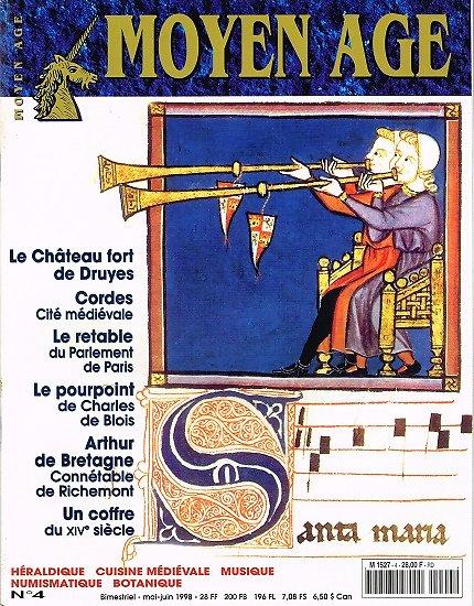 Moyen Age N° 4, collectif, Heimdal mai-juin 1998.