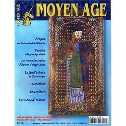 Moyen Age N° 5, collectif, Heimdal juillet-août 1998.