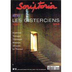 Les cisterciens 1098-1998, Scriptoria N° 2, juillet-août 1998