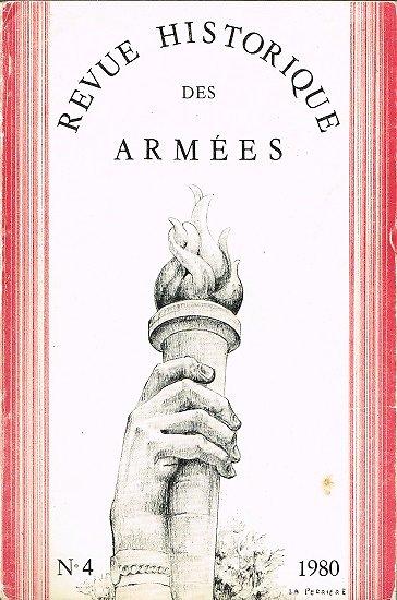 Revue Historique des Armées N° 4, collectif, 1980.