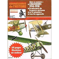 Chasseurs 1914-1918, Connaissance de l'Histoire N° 33, Hachette mars 1981.