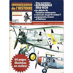 Aéronavale 1914-1939, Connaissance de l'Histoire N° 24, Hachette mai 1980.
