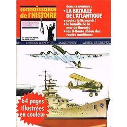 La bataille de l'Atlantique, Connaissance de l'Histoire N° 1, Hachette mars 1978.