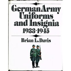 German Army Uniforms and Insignia 1933-1945, Brian L. Davis, The World Publishing Company 1971.