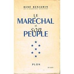 Le Maréchal et son peuple, René Benjamin, Plon 1941.