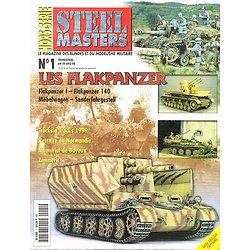 Les Flakpanzer 1935- 1945, Hors série Steel Masters N° 1, Armes & Collections Mai-juin-juillet 1999.