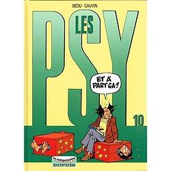 Les Psy, N° 10, Bédu, Cauvin, Les indispensables Dupuis 2002.