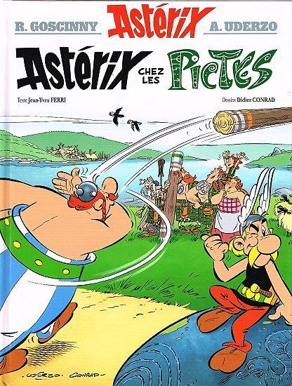 Astérix chez les Pictes, R. Goscinny, A. Uderzo, Les Editions Albert René 2013.