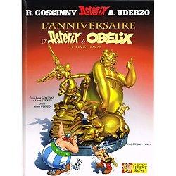 L'anniversaire d'Astérix et Obélix, Le livre d'or, R. Goscinny, A. Uderzo, Les Editions Albert René 2009.