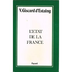 L'état de la France, Valéry Giscard d'Estaing, Fayard 1981.
