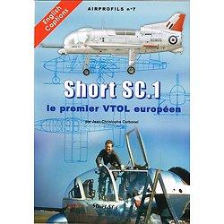 Airprofils N° 7, Short SC.1, le premier VTOL européen, Jean Christophe Carbonel, Artipresse 2012.