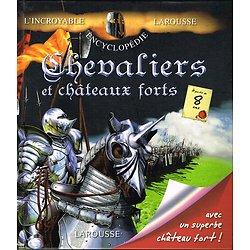 Encyclopédie Larousse , Chevaliers et châteaux forts. Anne Marie Lelorrain, Alain Boyer, Larousse 2010.