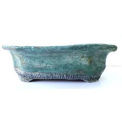 Pot ovale pour bonsaï, ou plante succulente ou autre