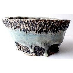 Pot pour bonsaï semi cascade ou cascade, ou cactus, caudex ou plante succulente