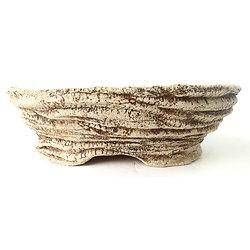 Pot ovale pour bonsaï cactus, ou plante succulente