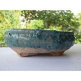 Pot ovale pour bonsaï, cactus, plante succulente...
