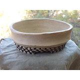 Pot en terre sigilée pour bonsaï shohin, cactus ou plante succulente