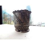 Pot haut pour bonsaï cascade ou semi cascade, cactus ou plante succulente ou à port tombant